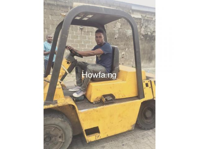 PRACTICAL TRAINING ON FORKLIFT OPERATOR - 1