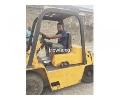 PRACTICAL TRAINING ON FORKLIFT OPERATOR