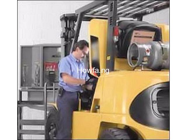 PRACTICAL TRAINING ON FORKLIFT OPERATOR - 6