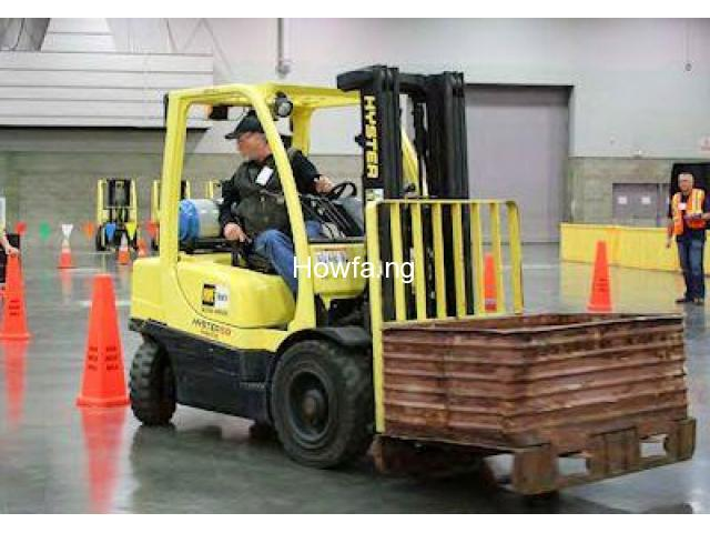 PRACTICAL TRAINING ON FORKLIFT OPERATOR - 7