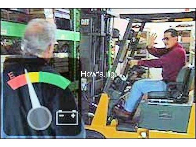 PRACTICAL TRAINING ON FORKLIFT OPERATOR - 9