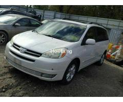 2006Toyota sienna for sale