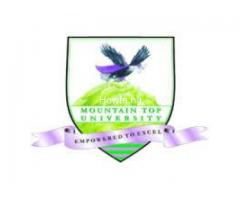 Yes Mountain Top University 2020/2021 Post Utme Form/Direct Entry Form is out 08036823567