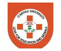 Caritas University, Enugu 2020/2021 Post Utme Form/Direct Entry Form is out Call 08036823567