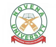 Yes Novena University, Ogume 2020/2021 Post Utme Form/Direct Entry Form is out