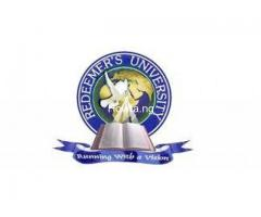 Yes Redeemer's University, Mowe 2020/2021 Post Utme Form/Direct Entry Form is out 08036823567