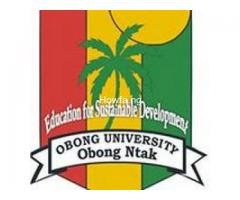 Yes Obong University, Obong Ntak 2020/2021 Admission Form,PGD Form is out  Click