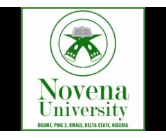 Novena University, Ogume 2021/2022 Session Admission forms are on sales